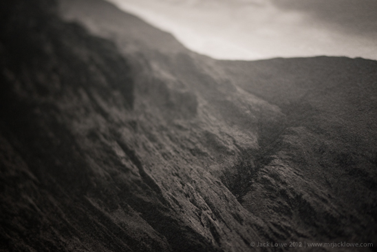 Platinum/Palladium Print of Piers Gill, Scafell Pike by Jack Lowe