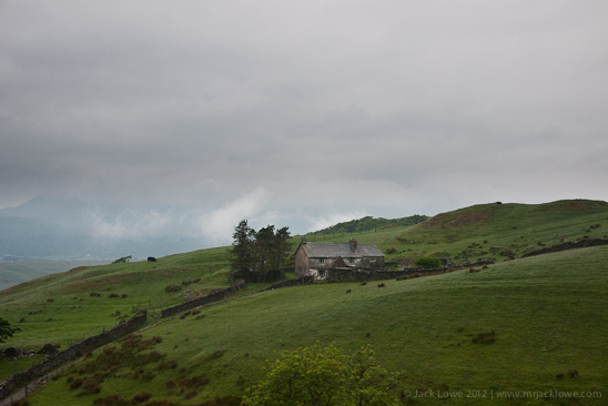 Old Stone Farmhouse, Near Coniston Water, The Lake District