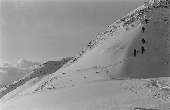 Climbing Ben Hiant, Ardnamurchan, Christmas Day 1995