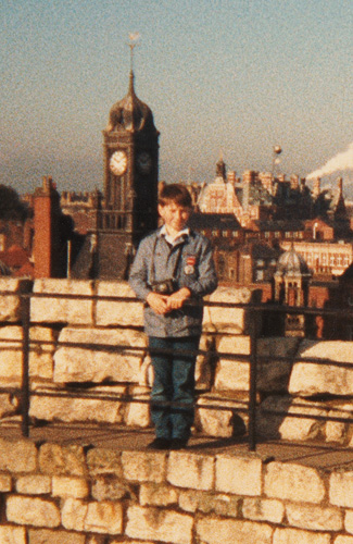 Jack Lowe, 9 years old at York
