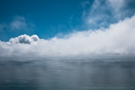 The Tasman Sea photographed from the West Coast of New Zealand by Jack Lowe