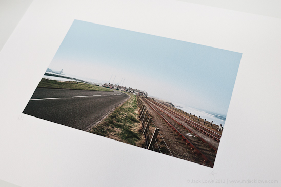 Signed and numbered print of Cambois, Photography by Jack Lowe