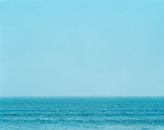 Blue Sea, Photography by Jack Lowe