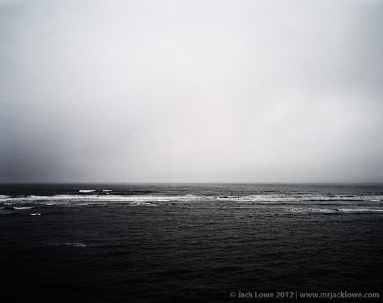 Cold Sea, Photography by Jack Lowe