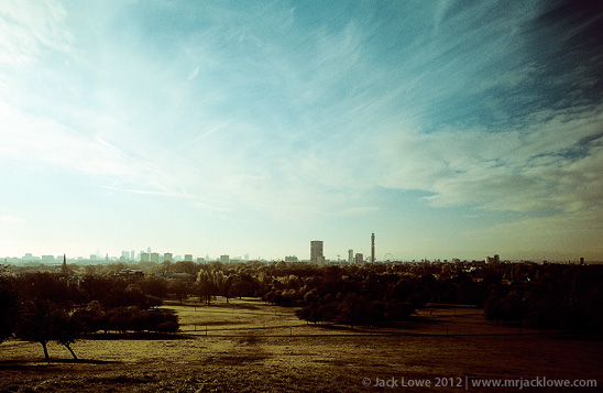 Primrose Hill, Photography by Jack Lowe