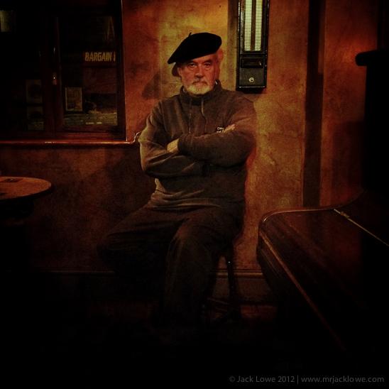 Duncan Davis at Fanny's Public House, Saltaire