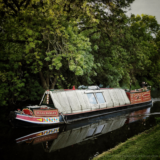 Pearl Barley on the Leeds Liverpool Canal