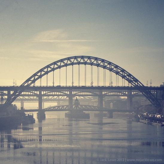 The River Tyne, Newcastle upon Tyne, UK