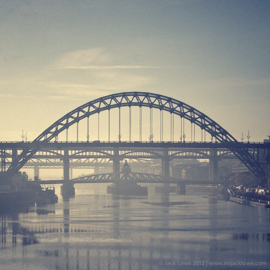 The River Tyne, Newcastle upon Tyne, UK
