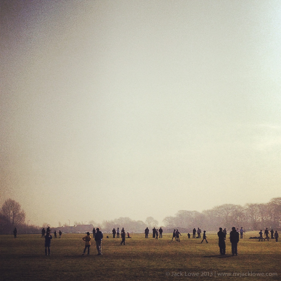 Sunday Morning Football, Photography by Mr Jack Lowe on Instagram