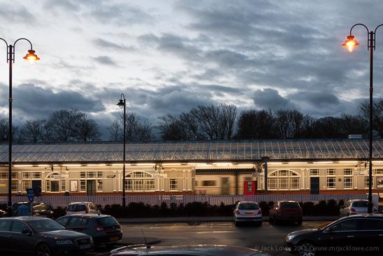 Berwick upon Tweed Railway Station