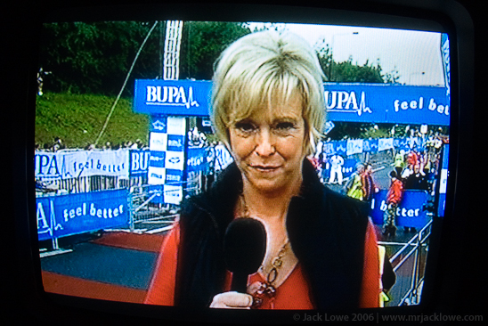 Great North Run 2006, Sue Barker
