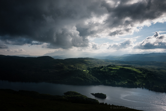 Peel Island, Coniston Water, 2012 by Jack Lowe