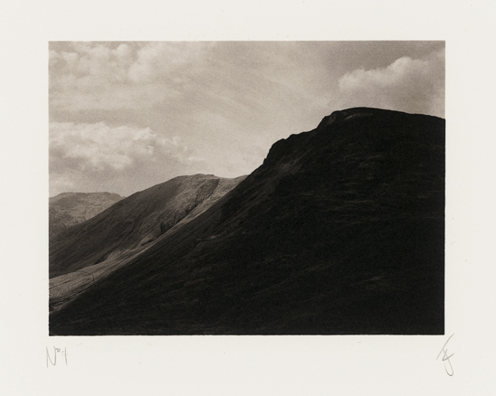 Great Gable in the Lake District, UK, 2003, photographed by Jack Lowe