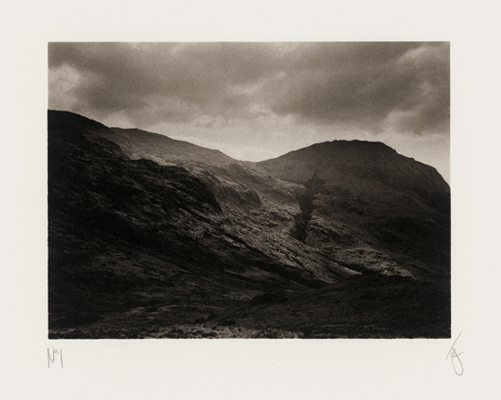 Scafell Pike in the Lake District, UK, 2003, photographed by Jack Lowe