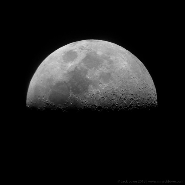 The Moon from Kielder Observatory