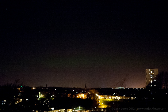 aurora borealis, northern lights, newcastle upon tyne, north east england