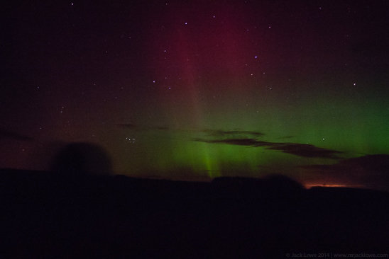 Aurora Borealis, Northern Lights, Northumberland, North East England