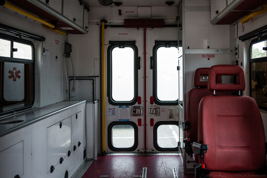 Jack Lowe's Ambulance / Wet Plate Collodion Darkroom